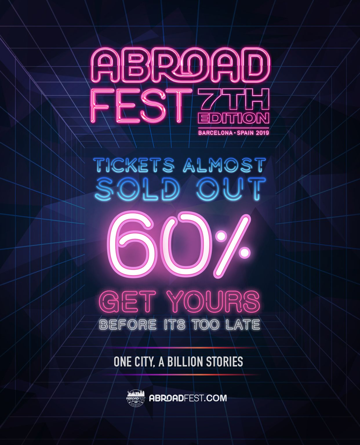 Abroadfest 2019 coming soon