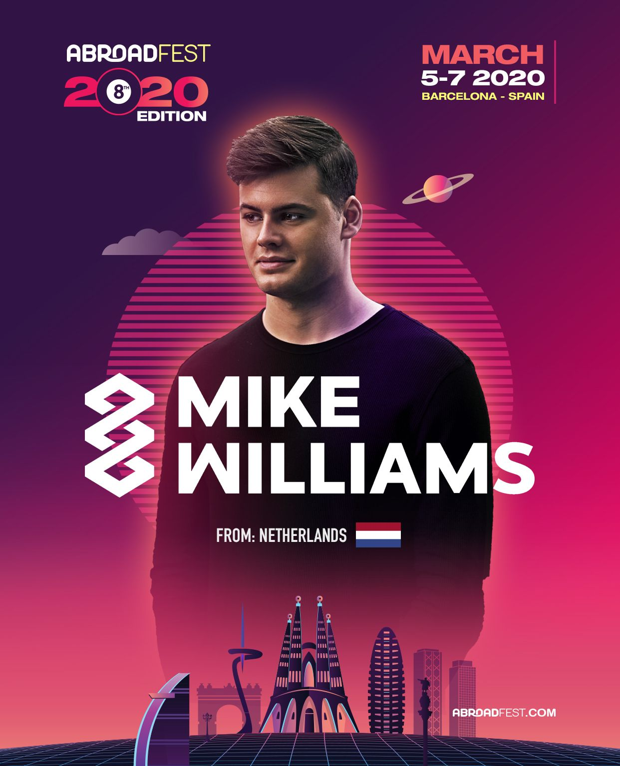 First Announcement: Mike Williams